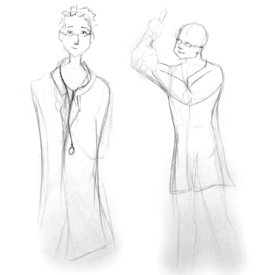 APHL Character Concept Art
