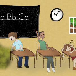APHL video screenshot - classroom environment