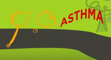 """Keep Asthma on the Move"" commercial"