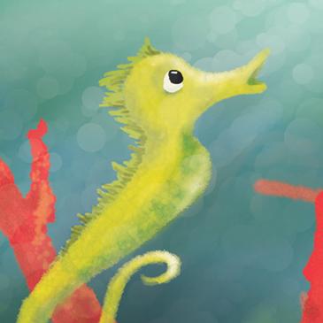 Seahorse color study thumbnail