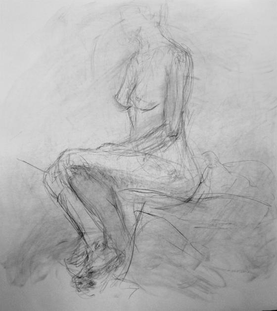 sketch in progress