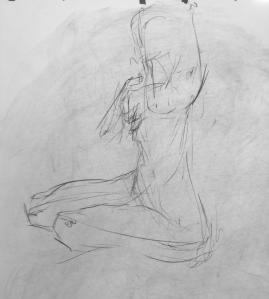 Quick figure gesture 1