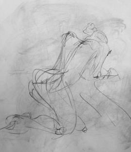 Quick figure gesture 3