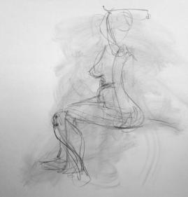 Quick figure gesture 4