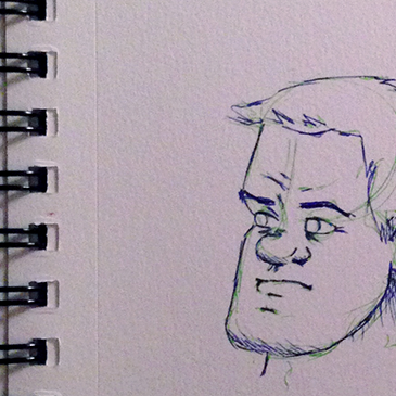 facial sketches thumbnail
