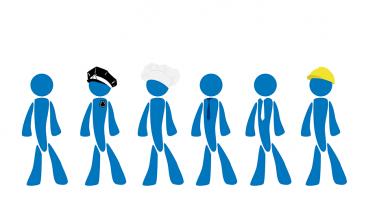 job seeker character & accessory concept art