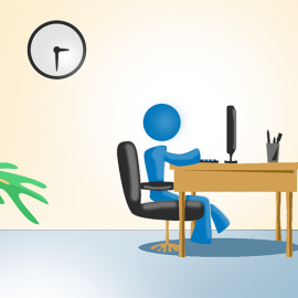 iHire approved concept art - office environment