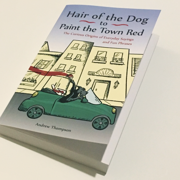 Paint the Town Red Book cover - angled